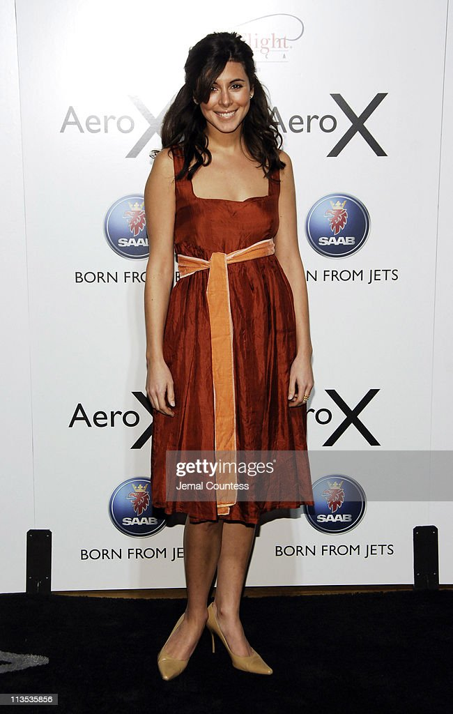 Jamie-Lynn Sigler during SAAB Introduces Their New Concept Vehicle The 'Aero X' and Announces Their Philanthropic Partnership With Angel Flight America at The Altman Building in New York City, New York, United States.