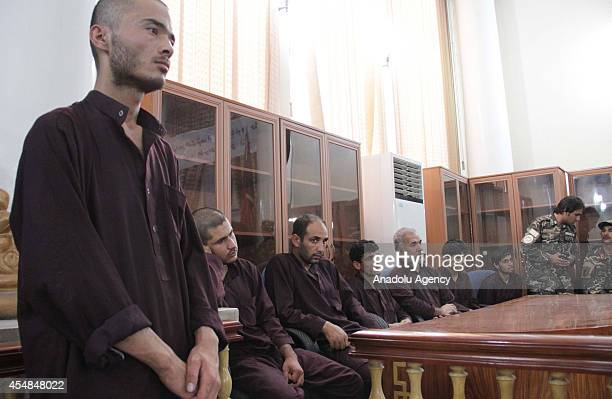 Jamil one of seven men who gangraped four women on August 23 stands in court in Kabul Afghanistan on September 7 2014 Afghanistan handed the death...
