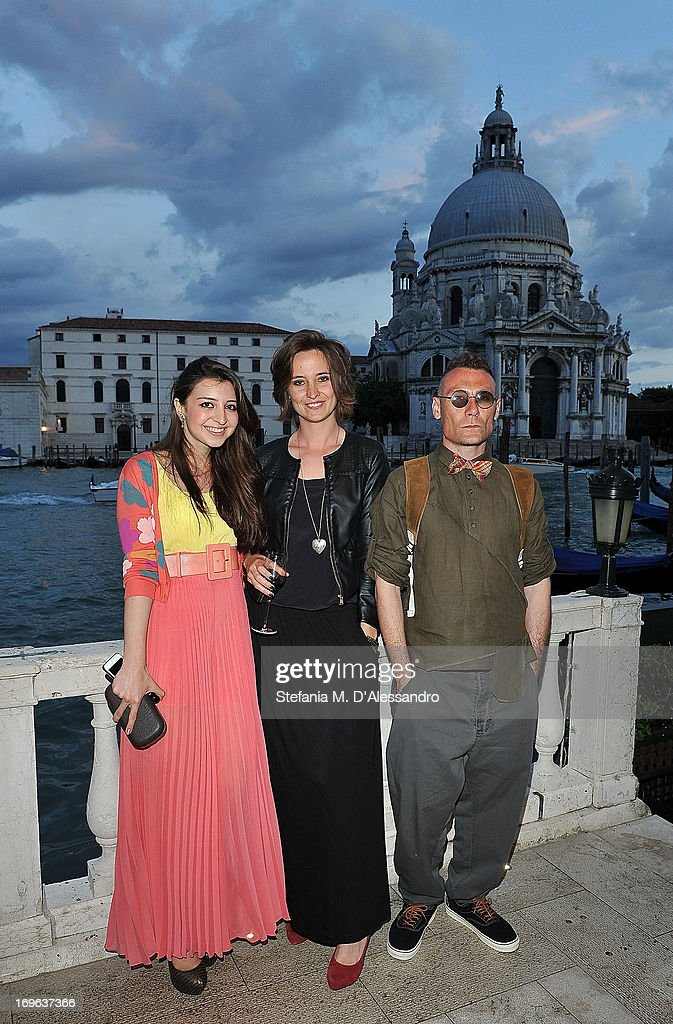 L-R Jamila Orujova, Lana Sokolova, Ali Hasanov attend the Venice Biennale 2013 Celebration with Baku Magazine, hosted by Leyla Aliyeva, Simon De Pury & Darius Sanai at The Westin Europa & Regina on May 29, 2013 in Venice, Italy.