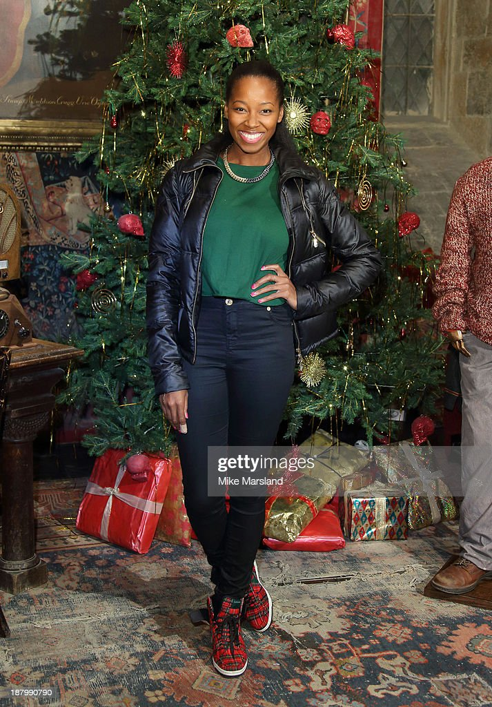 Jamilia attends Hogwarts In The Snow VIP Preview at Warner Bros Studios on November 14, 2013 in London, England.