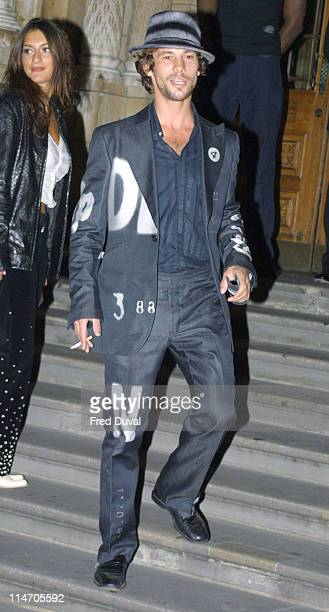Jamiroquai's Jay Kay during 2002 GQ Men of the Year Awards London at Natural History Museum in London Great Britain