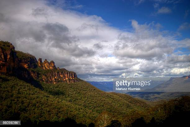 Jamison valley and Three Sisters Blue mountains
