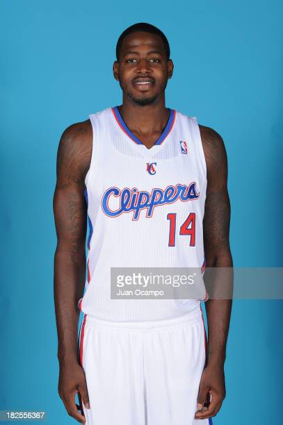 JaMychal Green of the Los Angeles Clippers poses for a picture during media day at the Clippers Training Center on September 30 2013 in Playa Vista...