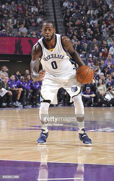 JaMychal Green of the Memphis Grizzlies handles the ball against the Sacramento Kings on December 31 2016 at Golden 1 Center in Sacramento California...