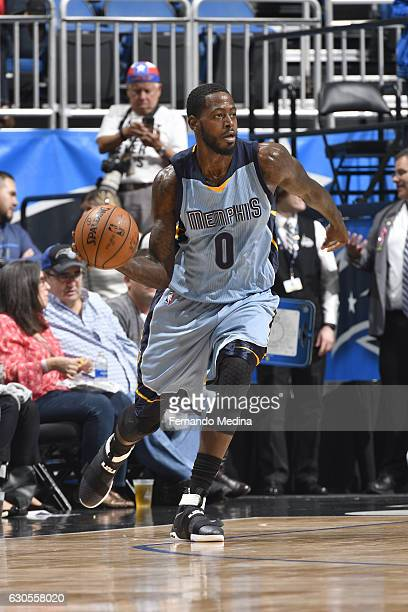 JaMychal Green of the Memphis Grizzlies looks to pass against the Orlando Magic on December 26 2016 at Amway Center in Orlando Florida NOTE TO USER...