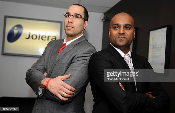 Jan 14th 2009alex shanchief exec officerand his partner joseph khunaysir chief technology and information officer or joleraa company that takes in...