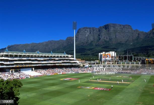 General view of Newlands during the Fourth Test between South Africa and England in Cape Town South Africa Mandatory Credit Laurence Griffiths...