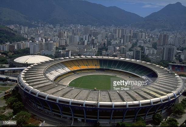General view of the Maracana Stadium during the FIFA Club World Championship in Rio de Janeiro Brazil Mandatory Credit Tom Shaw /Allsport