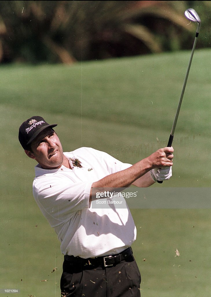 Jose Maria Olazabal of Spain in action during the second round of the Heineken Classic 2000 golf played at The Vines Golf Course, Perth, Australia. Mandatory Credit: Scott Barbour/ALLSPORT