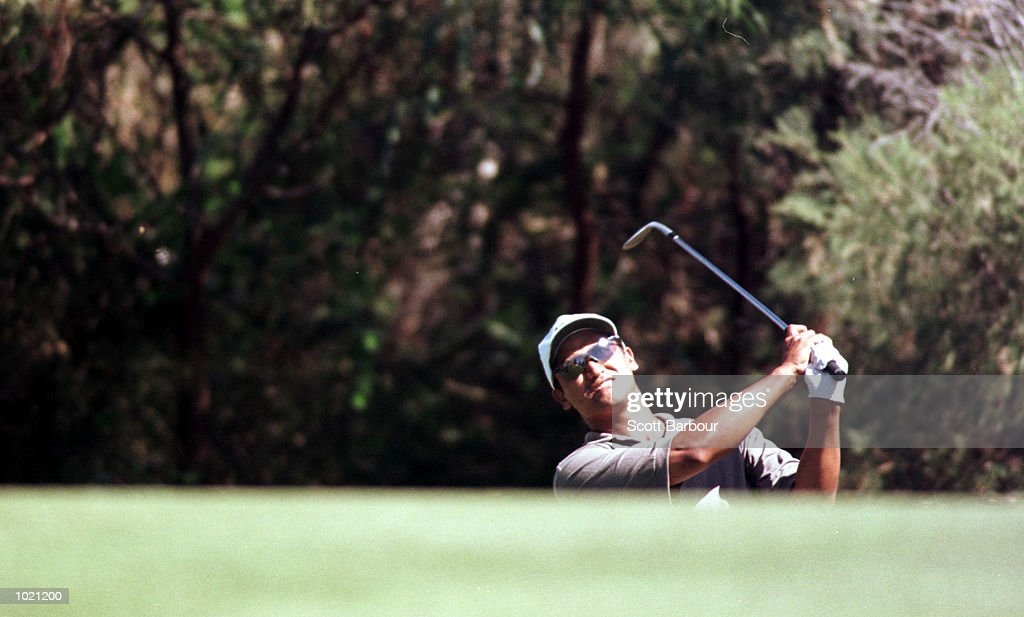 Michael Campbell of New Zealand in action during his three under second round score of 69 during the second round of the Heineken Classic 2000 golf played at The Vines Golf Course, Perth, Australia. Mandatory Credit: Scott Barbour/ALLSPORT