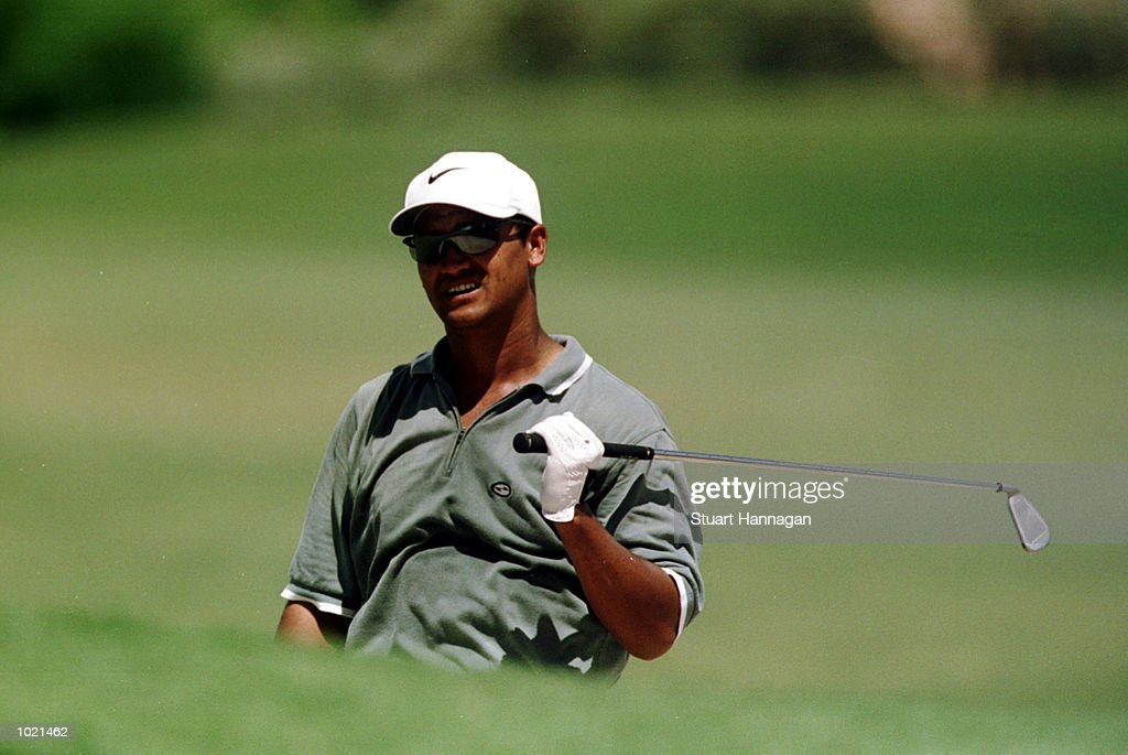 Michael Campbell of New Zealand in action during the third round of the Heineken Classic 2000 golf played at The Vines Golf Course, Perth, Australia. Mandatory Credit: Stuart Hannagan/ALLSPORT
