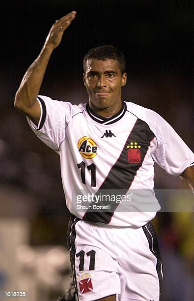 Romario of Vasco da Gama during the South Melbourne v Vasco da Gama match in the FIFA Club World Championships Brazil 2000 in the Maracana Stadiun in...