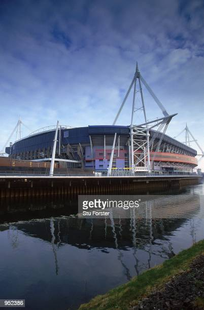 General view of the Millennium Stadium in Cardiff Wales Mandatory Credit Stu Forster /Allsport
