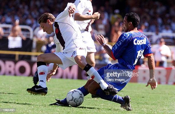 Juninho of Vasco De Gama in action during the Brazilian National Cup Final the Jose Havelange Cup between Vasco De Gama and Sao Caetano played at the...
