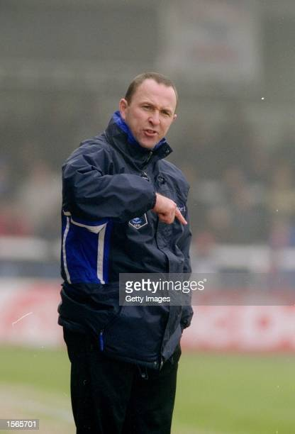 Rochdale manager Steve Parkin during the Nationwide Division Three match against Leyton Orient played at Spotland in Rochdale England Rochdale won...