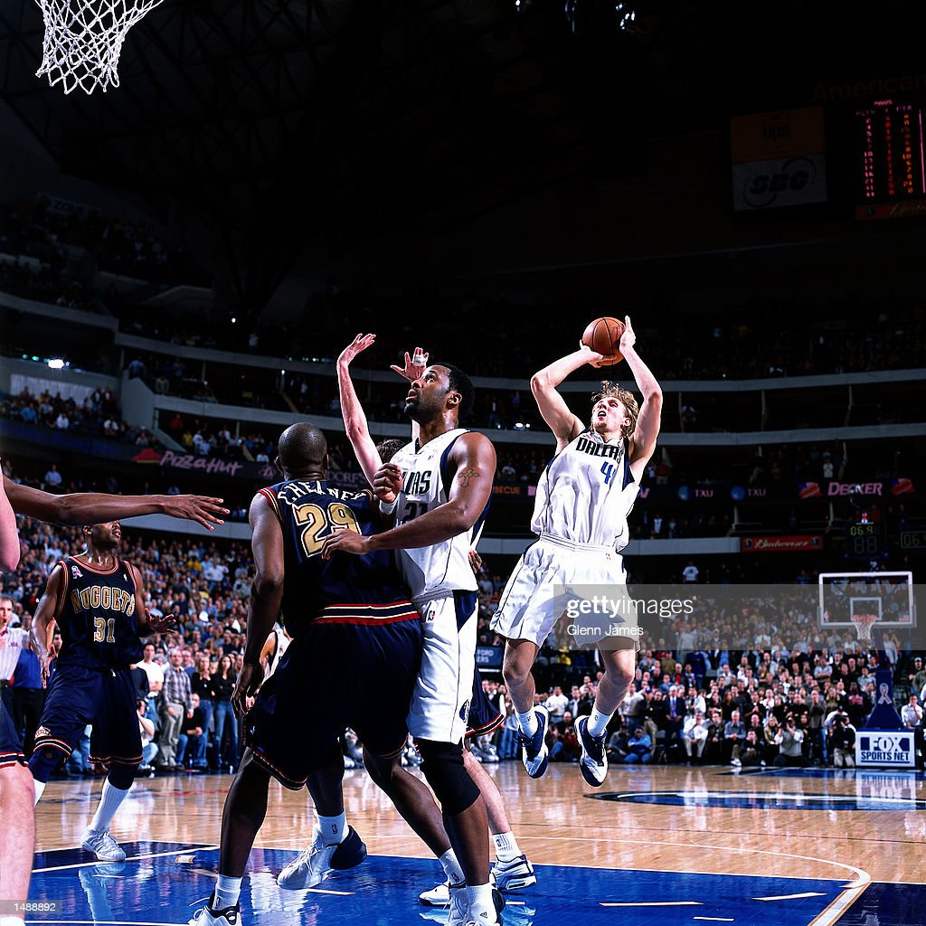 Denver Nuggets X Dallas Mavericks: Dirk Nowitzki