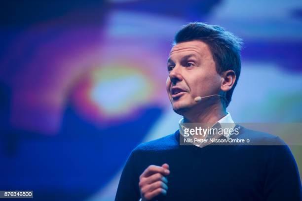 Jan Artem Henriksson during The Sime Awards at Cirkus on November 15 2017 in Stockholm Sweden