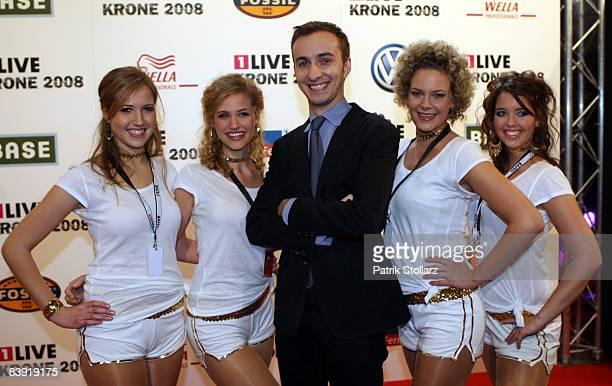 Jan Boehmermann attends the 1 Live Krone Awards 2008 on December 4 2008 in Bochum Germany