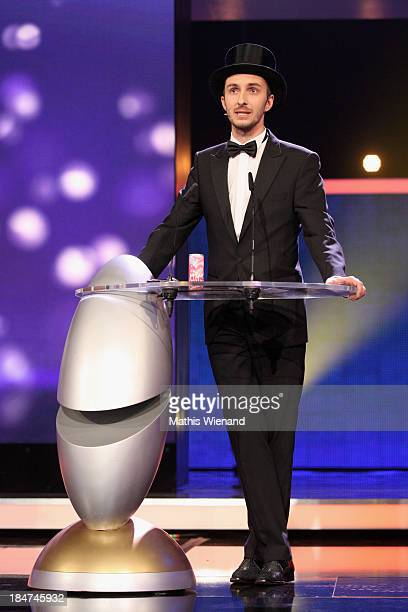 Jan Boehmermann attends the 17th Annual of the German Comedy Awards at Coloneum on October 15 2013 in Cologne Germany