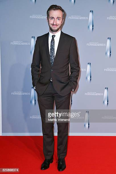 Jan Boehmermann attends the German Television Award at Rheinterrasse on January 13 2016 in Duesseldorf Germany