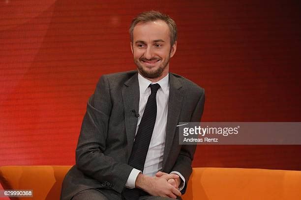 Jan Boehmermann gestures during 'Menschen 2016' ZDF Jahresrueckblick on December 15 2016 in Hamburg Germany