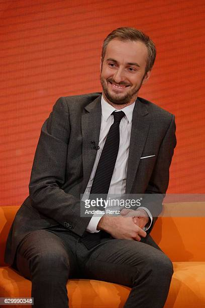 Jan Boehmermann smiles during 'Menschen 2016' ZDF Jahresrueckblick on December 15 2016 in Hamburg Germany