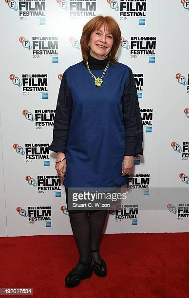 Jan Chapman attends 'The Daughter' Red Carpet arrivals during the BFI London Film Festival at Vue Leicester Square on October 9 2015 in London England