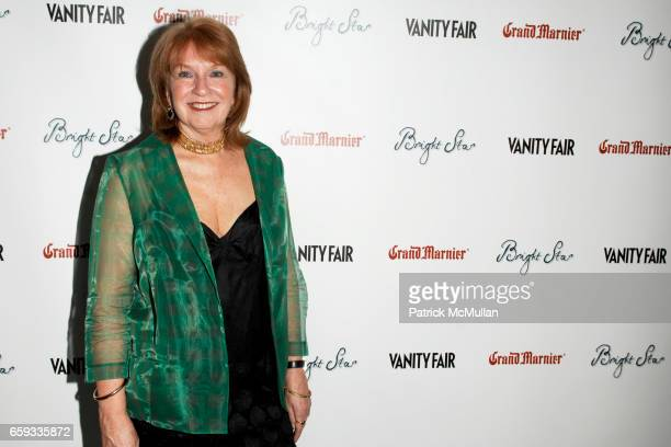"Jan Chapman attends VANITY FAIR Apparition host the US Premiere of ""BRIGHT STAR"" at The Paris Theater on September 14 2009 in New York City"