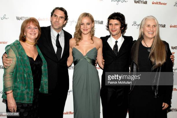 "Jan Chapman Paul Schneider Abbie Cornish Ben Whishaw and Jane Campion attend VANITY FAIR Apparition host the US Premiere of ""BRIGHT STAR"" at The..."