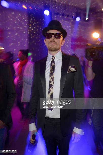 Jan Delay attends the '1Live Krone' at Jahrhunderthalle on December 5 2013 in Bochum Germany