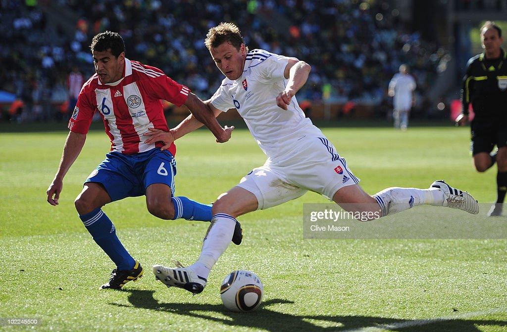 Slovakia v Paraguay: Group F - 2010 FIFA World Cup