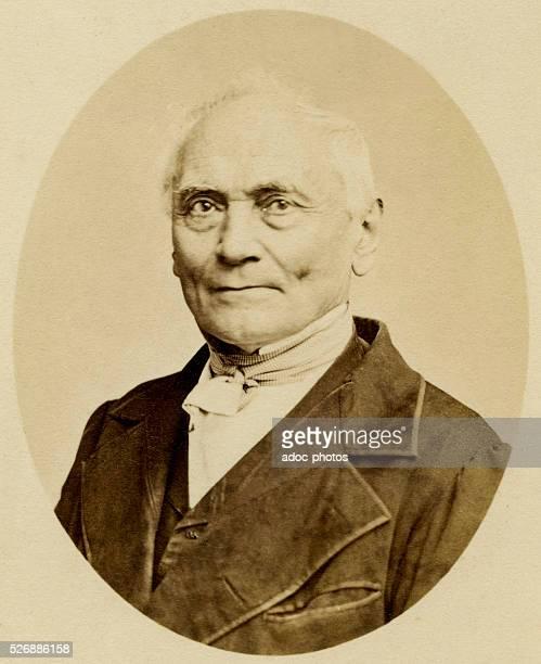 Jan Evangelista Purkinje Czech anatomist and neurophysiologist born at Libochovice near Litomerice Ca 1860