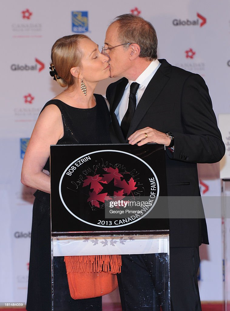 Jan Ezrin and Bob Ezrin attend Canada's Walk Of Fame Ceremony at The Elgin on September 21, 2013 in Toronto, Canada.