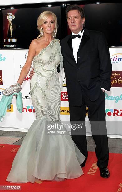 Jan Fedder and Marion Fedder during 2007 Die Goldene Kamera Awards Arrivals at AxelSpringerVerlag in Berlin Berlin Germany