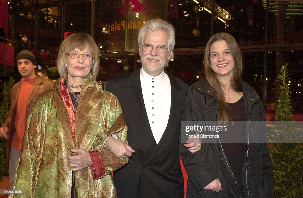 Jan Harlan Stanley Kubrick's brotherinlaw with his wife and daughter