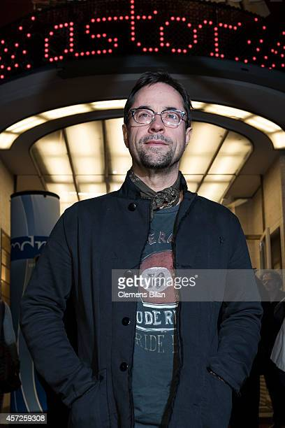 Jan Josef Liefers attends the 'Jan Josef Liefers Soundtrack meines Lebens' Premiere at Astor Film Lounge on October 15 2014 in Berlin Germany