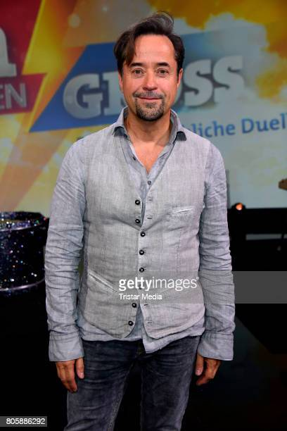 Jan Josef Liefers during the 'Klein gegen Gross Das unglaubliche Duell' TV Live Show at Studio Berlin Adlershof on June 2 2017 in Berlin Germany