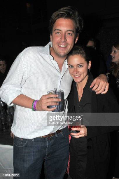 Jan Kaumanns and Kathrin Drehkopf attend After Party for HASTED HUNT KRAEUTLER Artists' Reception with JEFF BARK and EDWARD BURTYNSKY at the Empire...