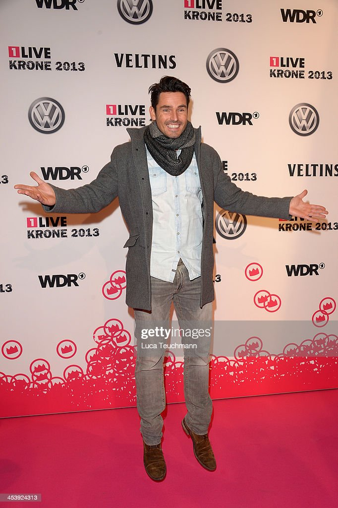 Jan Kralitschka attends the '1Live Krone' at Jahrhunderthalle on December 5, 2013 in Bochum, Germany.