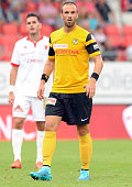 Jan Lecjaks of BSC Young Boys in action during the Raiffeisen Super League match between FC Sion and BSC Young Boys on August 23 2015 in Sion...