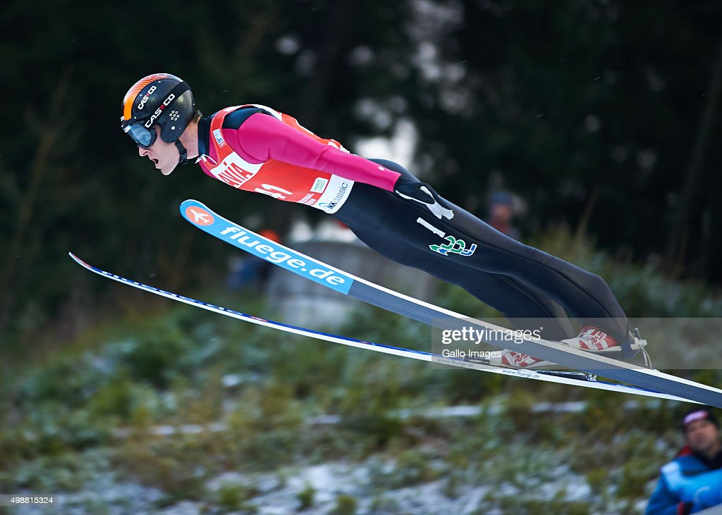 <a gi-track='captionPersonalityLinkClicked' href=/galleries/search?phrase=Jan+Matura&family=editorial&specificpeople=723613 ng-click='$event.stopPropagation()'>Jan Matura</a> of Czech competes in the 1st round of FIS Ski Jumping World Cup mens competition on November 22, 2015 in Klingenthal, Germany.