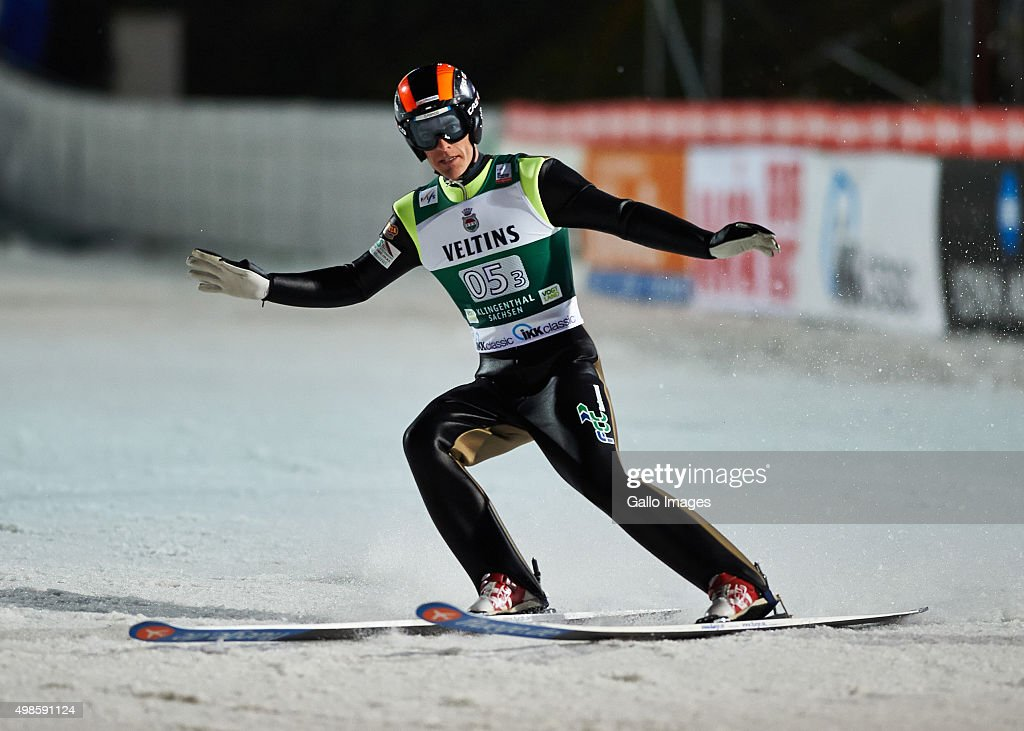 <a gi-track='captionPersonalityLinkClicked' href=/galleries/search?phrase=Jan+Matura&family=editorial&specificpeople=723613 ng-click='$event.stopPropagation()'>Jan Matura</a> of Czech competes in the 2nd round of FIS Ski Jumping World Cup team competition on November 21, 2015 in Klingenthal, Germany.