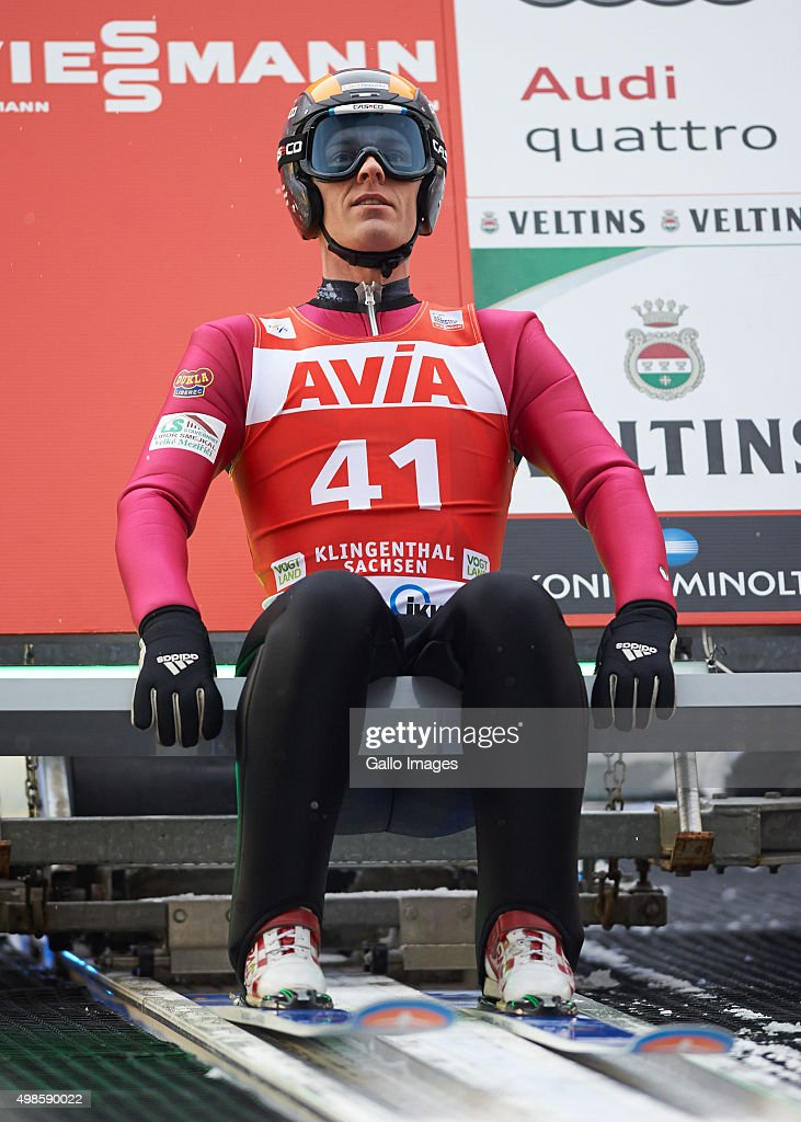 <a gi-track='captionPersonalityLinkClicked' href=/galleries/search?phrase=Jan+Matura&family=editorial&specificpeople=723613 ng-click='$event.stopPropagation()'>Jan Matura</a> of Czech competes in the trial round of FIS Ski Jumping World Cup competition on November 21, 2015 in Klingenthal, Germany.