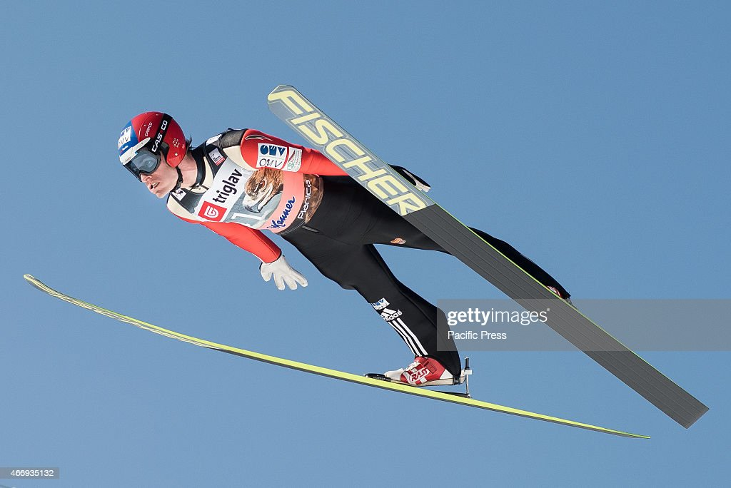 <a gi-track='captionPersonalityLinkClicked' href=/galleries/search?phrase=Jan+Matura&family=editorial&specificpeople=723613 ng-click='$event.stopPropagation()'>Jan Matura</a> of Czech Republic competes during FIS World Cup Planica Flying Hill Individual Ski Jumping in Planica, Slovenia. Ski jumping is a form of nordic skiing in which athletes descend a take-off ramp, called an inrun, jump, and fly as far as possible. Points are awarded for distance and style.