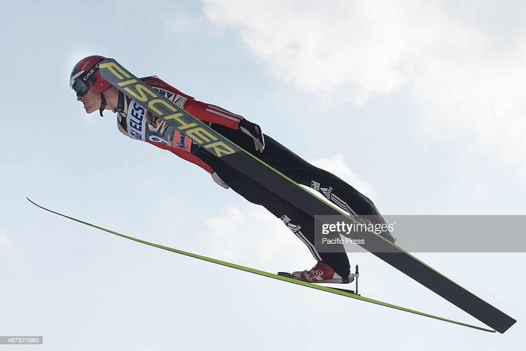 <a gi-track='captionPersonalityLinkClicked' href=/galleries/search?phrase=Jan+Matura&family=editorial&specificpeople=723613 ng-click='$event.stopPropagation()'>Jan Matura</a> of Czech Republic competes during FIS World Cup Planica Flying Hill Individual Ski Jumping. Ski jumping is a form of nordic skiing in which athletes descend a take-off ramp, called an inrun, jump, and fly as far as possible. Points are awarded for distance and style.
