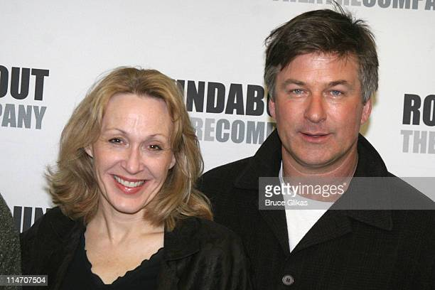 Jan Maxwell and Alec Baldwin during The Roundabout Theater Company's 'Entertaining Mr Sloane' Photocall at Roundabout Rehearsal Space in New York...