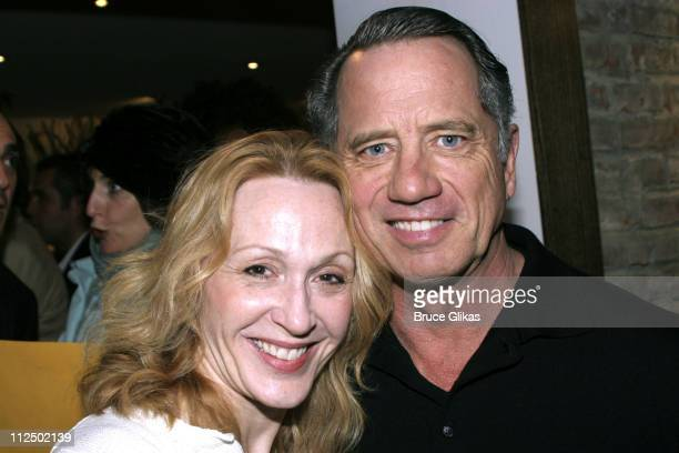 Jan Maxwell and Tom Wopat during 50th Annual Drama Desk Awards Nominations Cocktail Party at Arte Cafe in New York City New York United States