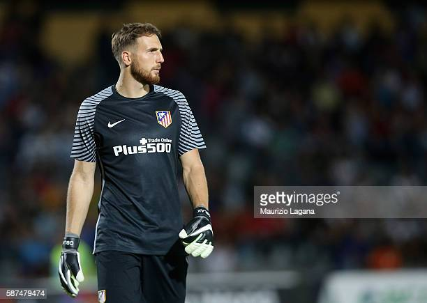Jan Oblak of Atletico de Madrid during presseason friendly match between FC Crotone and Club Atletico de Madrid at Stadio Comunale Gigi Marulla on...