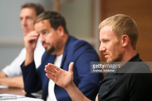 Jan Rosenthal at DFB Headquarter on July 19 2017 in Frankfurt am Main Germany