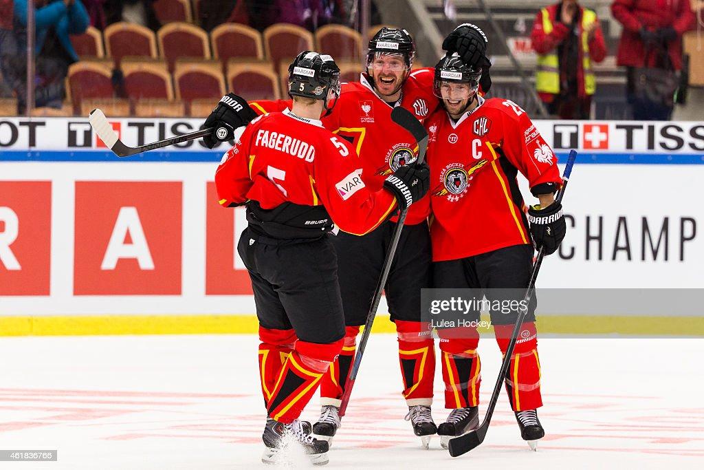 Lulea Hockey v Skelleftea AIK - Champions Hockey League Semi Final
